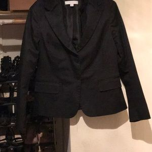 New York and company stretch black blazer 14